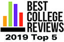 Best College Reviews award winner