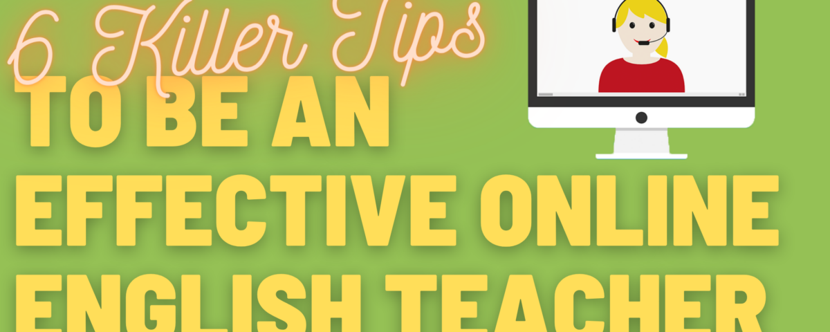 6 tips to be an effective online teacher with TEFLPros and 51Talk