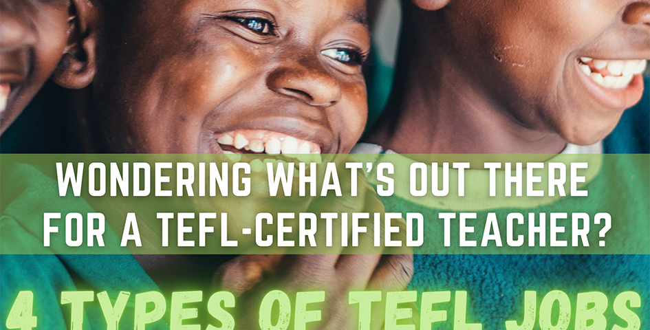 tefl teaching for tefl certified teachers